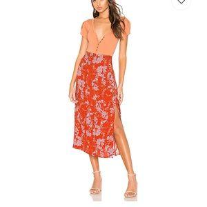 Free People retro love skirt!! ❤️